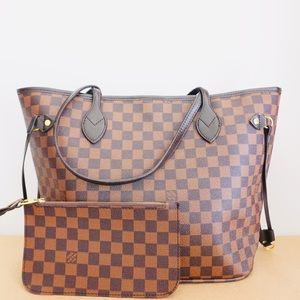 Louis Vuitton neverfull damier ebene